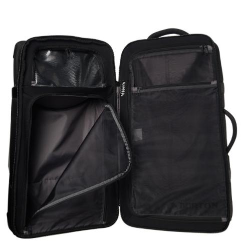 87d6824202e1 BURTON WHEELIE DOUBLE DECK TRAVEL BAG - BLACK
