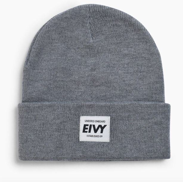 64ffed55015 EIVY HIGH FIVE BEANIE – GREY MELANGE – Pacific Prizm Boardstore