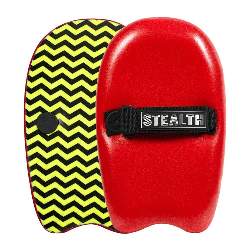 c28444800e51 STEALTH PLUGGA HAND SURFER – RED – Pacific Prizm Boardstore