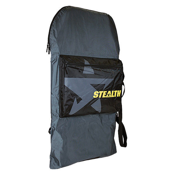 04d9975a41f6 STEALTH BASIC BODYBOARD BAG – GREY   YELLOW – Pacific Prizm Boardstore